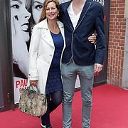 NLD/Amsterdam/20120617 - Premiere Het Geheugen van Water, Carine Crutzen en zoon