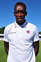 Brandon Agounon - 07.08.2015 - Evian Thonon / Clermont - 2eme journee de Ligue 2<br /> Photo : Philippe Lebrech / Icon Sport