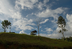 Picture by Mark Larner. Picture shows the village of Long Pa Sia, a remote settlement in the belt of highlands that straddle the border between Sabah & Sarawak in Malaysian Borneo. May 2008