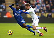 Leicester City v Crystal Palace - 16 Dec 2017
