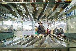 Exposição de Artesanato do Rio Grande do Sul (33ª Expoargs), no Pavilhão de Produtos e Artesanatos, com a presença de 295 artesãos de 56 municípios, durante a 39ª Expointer, Exposição Internacional de Animais, Máquinas, Implementos e Produtos Agropecuários. A maior feira a céu aberto da América Latina,  promovida pela Secretaria de Agricultura e Pecuária do Governo do Rio Grande do Sul, ocorre no Parque de Exposições Assis Brasil, entre 27 de agosto e 04 de setembro de 2016 e reúne as últimas novidades da tecnologia agropecuária e agroindustrial. FOTO: Itamar Aguiar / Agência Preview