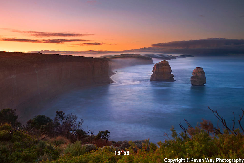 sunrise at The Apostles