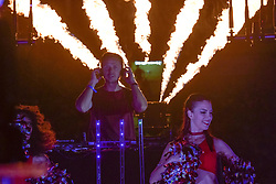 July 20, 2018 - Monaco, France - Le disc jockey Martin Laurent Picandet dit Martin Solveig (Credit Image: © Panoramic via ZUMA Press)
