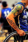 Auckland A captain Rewhiti Timoti. Auckland A v Northland Te Raki Trouper - 2010 Wheelchair Basketball National Championships at Te Rauparaha Arena, Porirua. Friday, 117 September 2010. Photo: Dave Lintott/photosport.co.nz