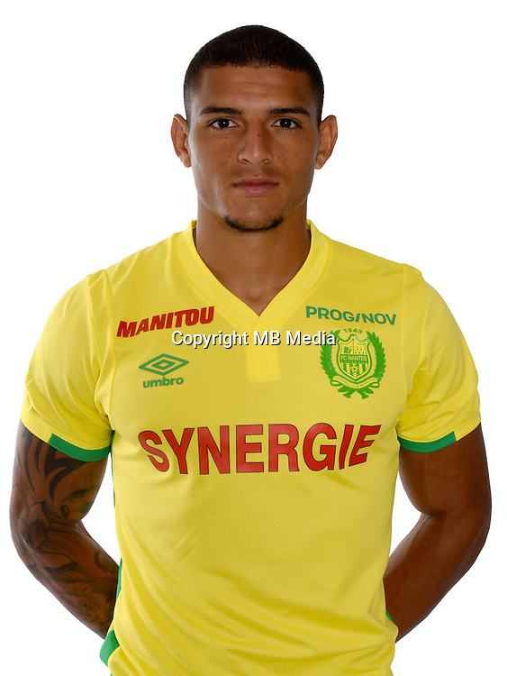 Diego Carlos during photocall of Fc Nantes for new season of Ligue 1 on September 14th 2016<br /> Photo : Fcna / Icon Sport