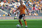Jackson Irvine of Hull City during the EFL Sky Bet Championship match between Hull City and Wigan Athletic at the KCOM Stadium, Kingston upon Hull, England on 14 September 2019.