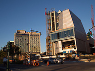 The new Whitney Museum at Ganzevoort Street under construction