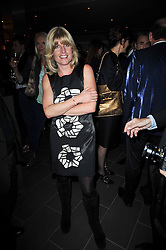 RACHEL JOHNSON at the launch of Nicky Haslam's autobiography Redeeming Features held at Aqua Nueva, 240 regent Street, London on 5th November 2009.