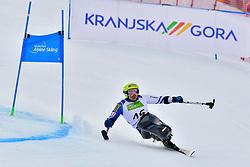 KANO Akira, LW11, JPN, Men's Giant Slalom at the WPAS_2019 Alpine Skiing World Championships, Kranjska Gora, Slovenia