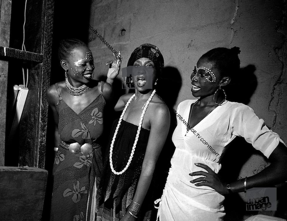 Fela Kuti Wives at the Shrine - Lagos