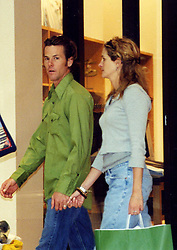 Jun 21, 2002 - Vernon Hills, IL, USA - JULIA ROBERTS and DANNY MODER hold hands at a shopping mall outside Chicago, days before they were married July 4 at Roberts' sprawling ranch in Taos, New Mexico. The 'Pretty Woman' has been regularly spotted on trendy Abbot Kinney Blvd. in Venice Beach, Calif. since she bought a craftsman-style home nearby for .3 million. <br /> (Credit: Photo by Melissa Arteman/ZUMA Press)