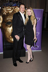 Talulah Riley and Elon Musk co-founder of PayPal at the Orange BAFTA's Nominees party held at Asprey, 165 New Bond Street, London on 20th February 2010.