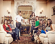 Dan Maloof Family portrait 2012