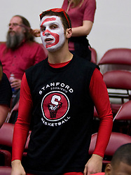 March 20, 2010; Stanford, CA, USA; A Stanford Cardinal fan during the second half against the UC Riverside Highlanders in the first round of the 2010 NCAA womens basketball tournament at Maples Pavilion.  Stanford defeated UC Riverside 79-47.