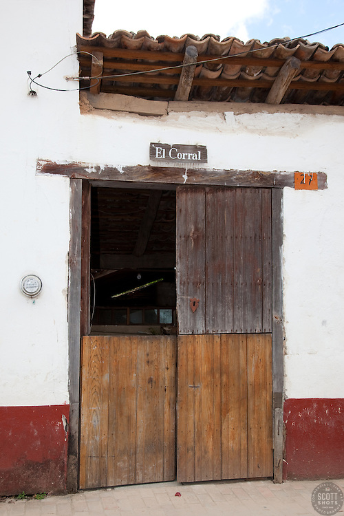 """""""El Corral"""" - El Coral and this old door were photographed in the small mountain town of San Sebastian, Mexico."""