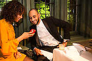 Alicia Keys and Swizz Beatz attend the Bloomberg Vanity Fair White House Correspondents' Association dinner afterparty at the residence of the French Ambassador on Saturday, April 28, 2012 in Washington, DC. Brendan Hoffman for the New York Times