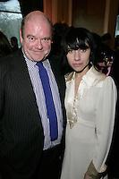 Paul McGuinness and PJ Harvey