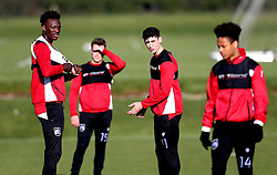 Bristol City players take part in training - Mandatory by-line: Robbie Stephenson/JMP - 19/01/2017 - FOOTBALL - Bristol City Training Ground - Bristol, England - Bristol City Training