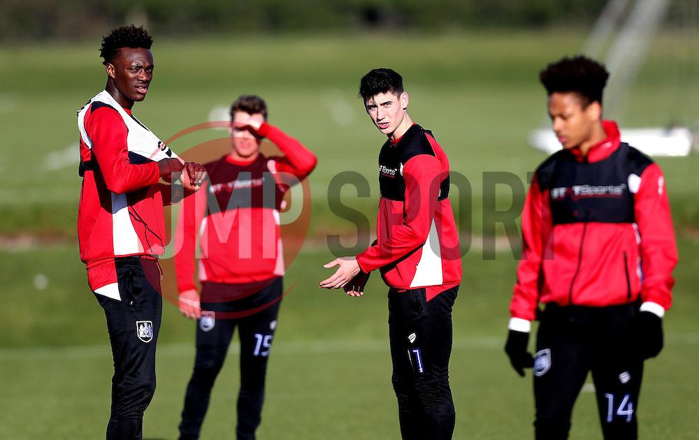Bristol City players take part in training - Mandatory by-line: Robbie Stephenson/JMP - 19/01/2017 - FOOTBALL - Bristol City Training Ground - Bristol, England - Bristol City Training