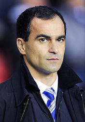 17.12.2011, Stamford Bridge Stadion, London, ENG, PL, FC Chelsea vs Wigan Athletic, 16. Spieltag, im Bild Wigan Athletic manager Roberto Martinez looks on during the football match of English premier league, 16th round, between FC Chelsea and Wigan Athletic at Stamford Bridge Stadium, London, United Kingdom on 2011/12/17. EXPA Pictures © 2011, PhotoCredit: EXPA/ Propagandaphoto/ Chris Brunskill..***** ATTENTION - OUT OF ENG, GBR, UK *****