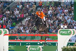 Jeroen Dubbeldam, (NED), Cortes C - Show Jumping Final Four - Alltech FEI World Equestrian Games™ 2014 - Normandy, France.<br /> © Hippo Foto Team - Leanjo de Koster<br /> 07-09-14