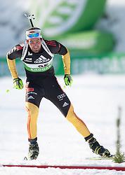 09.12.2011, Biathlonzentrum, Hochfilzen, AUT, E.ON IBU Weltcup, 2. Biathlon, Herren 10km Sprint, im Bild Michael Roesch (GER) // Michael Roesch of Germany during men 10km Sprint at E.ON IBU Worldcup 2th Biathlon, Hochfilzen, Austria on 2011/12/09. EXPA Pictures © 2011, PhotoCredit: EXPA/ Johann Groder