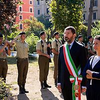 72.mo anniversario del bombardamento San Lorenzo - Roma