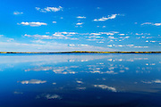 Reflection on Lac la Biche<br /> Sir Winston Churchill Provincial Park<br /> Alberta<br /> Canada