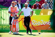 Joost Luiten op het Olympic Golf Course op de Olympische SPelen in Rio.