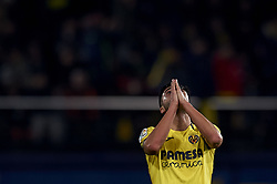January 4, 2019 - Villarreal, Castellon, Spain - Jaume Costa of Villarreal lament a failed occasion during the week 17 of La Liga match between Villarreal CF and Real Madrid at Ceramica Stadium in Villarreal, Spain on January 3 2019. (Credit Image: © Jose Breton/NurPhoto via ZUMA Press)