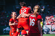 Portland Thorns FC vs. the Boston Breakers at Providence Park in Portland, OR, September 4, 2016