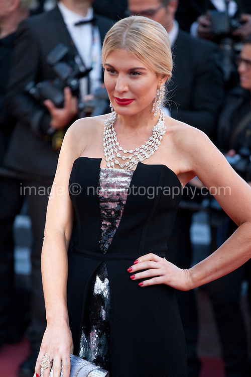 Hofit Golan at the gala screening for the film Mal De Pierres (From the Land of the Moon) at the 69th Cannes Film Festival, Sunday 15th May 2016, Cannes, France. Photography: Doreen Kennedy