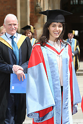 Image ©Licensed to i-Images Picture Agency. 05/07/2014. Northern Ireland, Singer Katie Melua during Graduation at Queen's University Belfast. Picture by i-Images