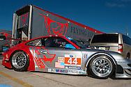 #44 Flying Lizard Motorsports Porsche 911 GT3 RSR: Seth Nieman, Darren Law