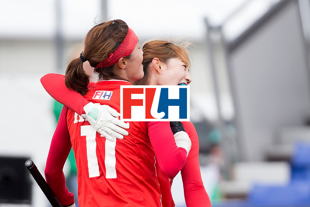 THE HAGUE - Rabobank Hockey World Cup 2014 - 2014-06-05 - WOMEN - Korea - Japan - <br /> Copyright: Willem Vernes
