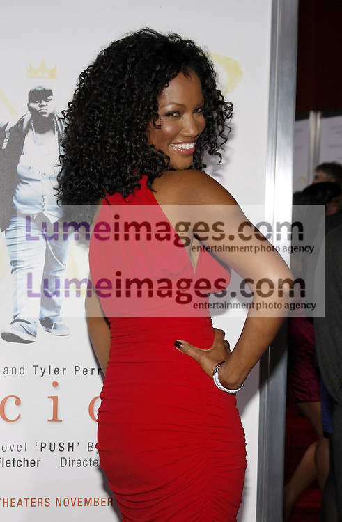 HOLLYWOOD, CA - NOVEMBER 01, 2009. Garcelle Beauvais at the AFI FEST 2009 Screening of 'Precious' held at the Grauman's Chinese Theater in Hollywood, USA on November 1, 2009.