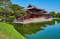 Japon, île de Honshu, région de Kansaï, Uji, temple de Byōdō-in // Japan, Honshu island, Kansai region, Uji, Byōdō-in temple