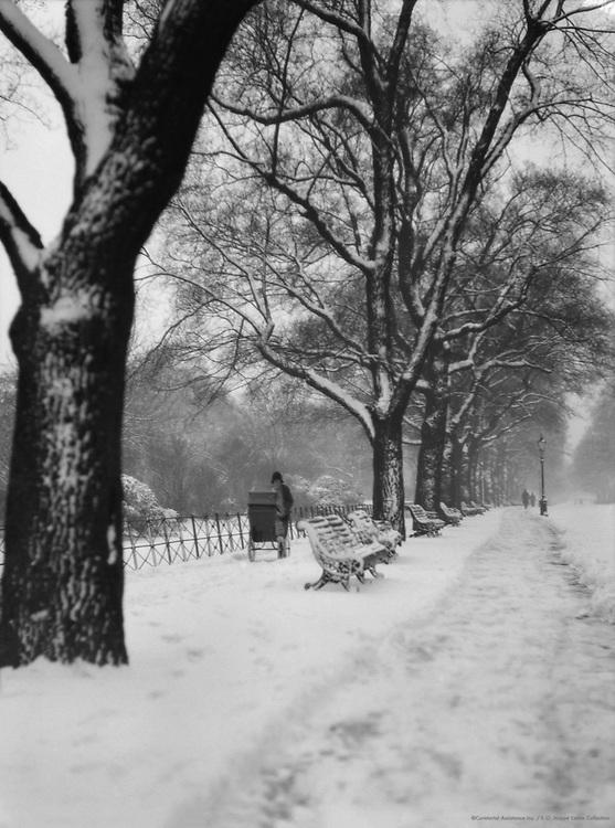 St. James's Park, Winter, London, 1929