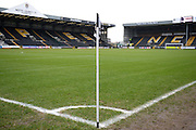 Meadow Lane ground ahead of the Sky Bet League 2 match between Notts County and Leyton Orient at Meadow Lane, Nottingham, England on 20 February 2016. Photo by Jon Hobley.