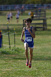 Lexington Catholic's Nicholas Laureano finished 2nd in the Boys 2A division of the 2011 KSHAA Cross Country Championship was held Saturday, Nov. 12, 2011. Photo by Jonathan Palmer