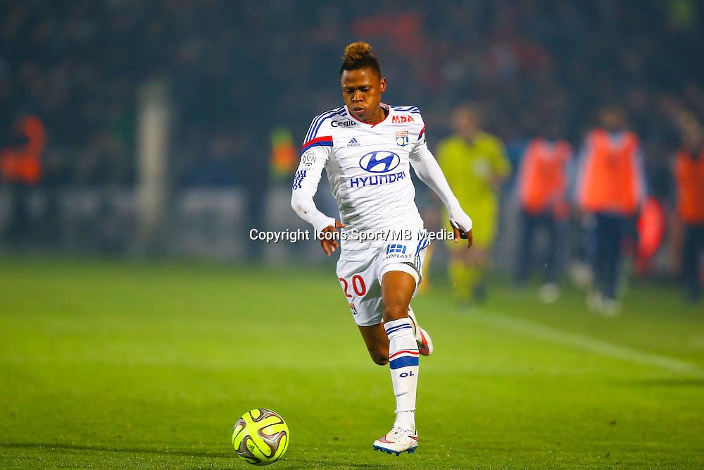 Clinton Njie  - 21.12.2014 - Bordeaux / Lyon - 19eme journee de Ligue 1 -<br /> Photo : Manuel Blondeau / Icon Sport