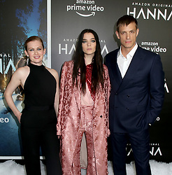 Mireille Enos, Esme Creed-Miles & Joel Kinnaman attending the 'Hanna' New York Premiere held at The Whitby Hotel on March 21, 2019 in New York City, NY<br />