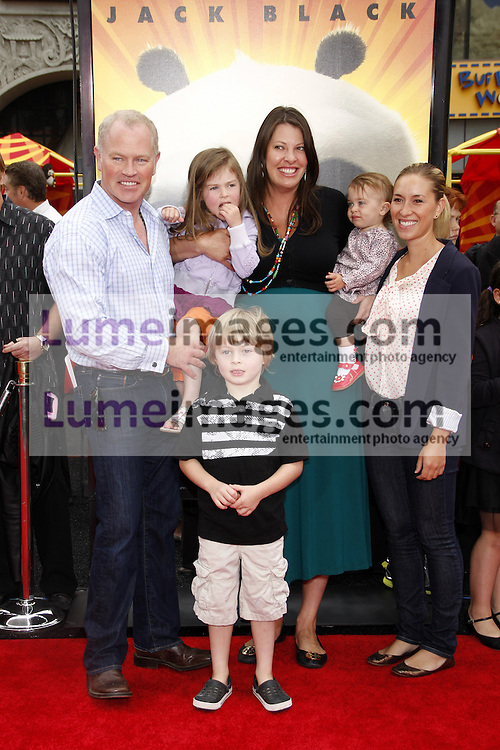 Neal McDonough at the Los Angeles premiere of 'Kung Fu Panda 2' held at the Grauman's Chinese Theater in Hollywood, USA on May 22, 2011.