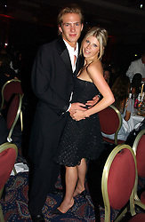 JACOBI ANSTRUTHER-GOUGH-CALTHORPE and GEORGIA CASTLEMAN at the Boodles Boxing Ball in aid of the sports charity Sparks  organised by Jez lawson, James Amos and Charlie Gilkes held at The Royal Lancaster Hotel, Lancaster Terrae London W2 on 3rd June 2006.<br /> <br /> NON EXCLUSIVE - WORLD RIGHTS