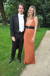 TIM & MALIN JEFFERIES at the Raisa Gorbachev Foundation fourth annual fundraising gala dinner held at Stud House, Hampton Court, Surrey on 6th June 2009.