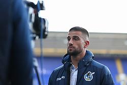 Max Ehmer of Bristol Rovers talkt to the media - Mandatory by-line: Arron Gent/JMP - 05/09/2020 - FOOTBALL - Portman Road - Ipswich, England - Ipswich Town v Bristol Rovers - Carabao Cup