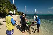 BRUV (Baited remote underwater video) monitoring<br /> Minimal or non invasive research of large marine fish, sharks, rays & turtles.<br /> MAR Alliance<br /> Lighthouse Reef Atoll<br /> Belize<br /> Central America
