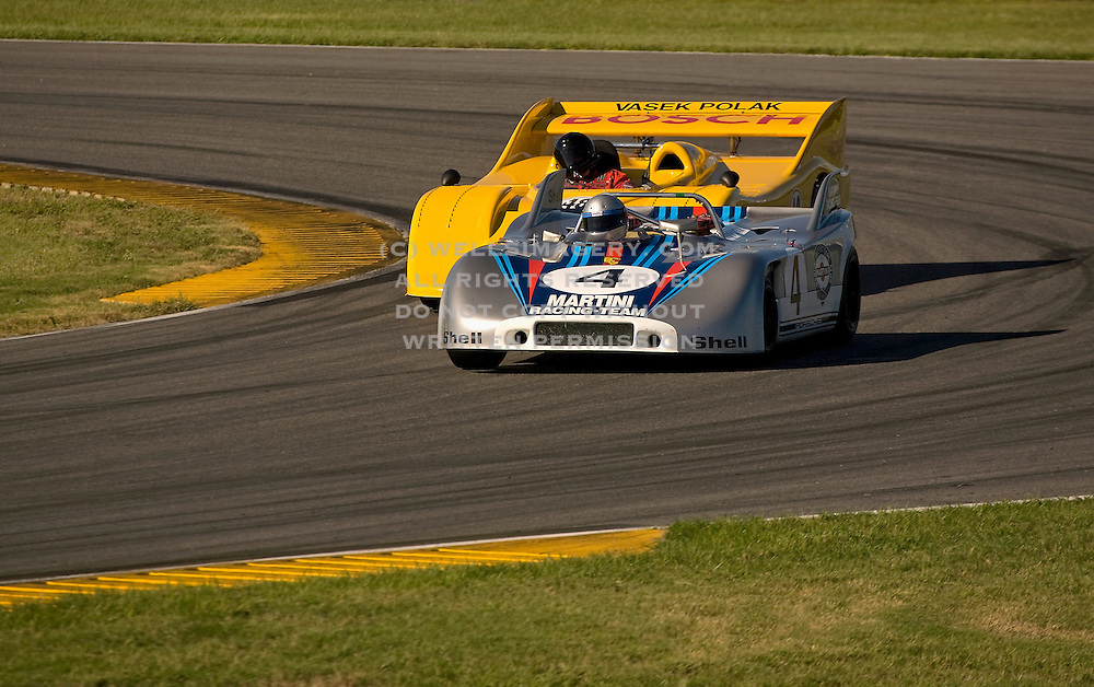 Image of racing at the Rennsport Reunion III at Daytona International Speedway, Daytona, Florida, American Southeast, Porsche 908 and 917