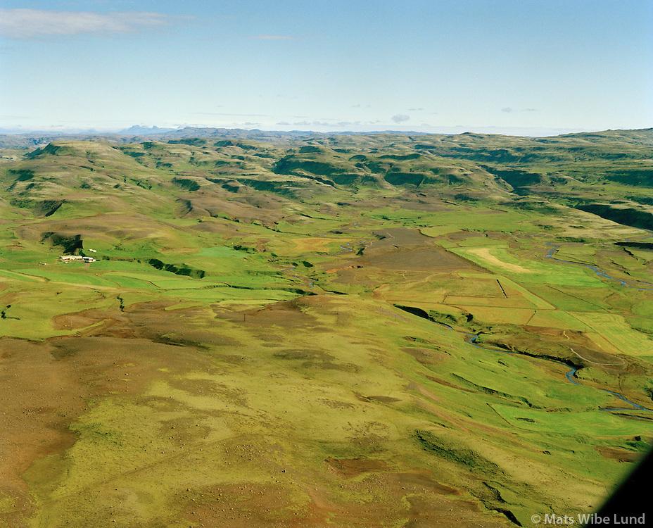 Skáldabúðir séð til norðausturs, Skeiða- og Gnúpverjahreppur áður Gnúpverjahreppur / Skaldabudir viewing northeast, Skeida- og Gnupverjahreppur former Gnupverjahreppur.