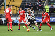 Notts County striker Jon Stead during the Sky Bet League 2 match between Notts County and Leyton Orient at Meadow Lane, Nottingham, England on 20 February 2016. Photo by Jon Hobley.